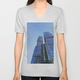 city of capitals Unisex V-Neck