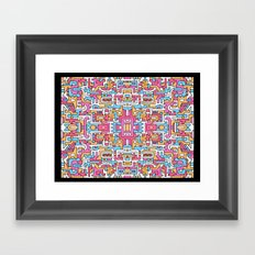 Sacred Patterns Framed Art Print
