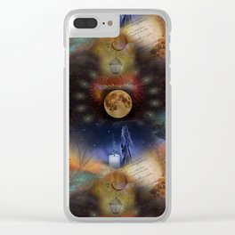 Energy Series: Fascination Clear iPhone Case