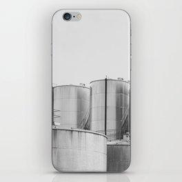 Industrial architecture, urban photography, still life, interior design, interior decoration, city iPhone Skin