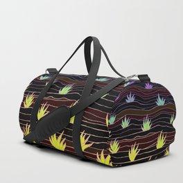 Neon Agave Duffle Bag