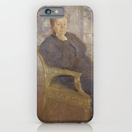 Carl Larsson - Selma Lagerlöf iPhone Case