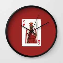 King Lebron Wall Clock