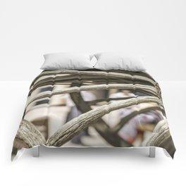Calgary Stampede Chuck Wagon Wheel with Cobwebs Comforters