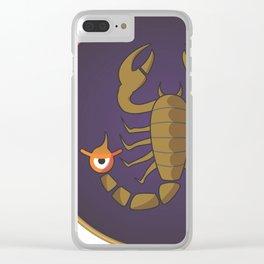 escorpi.ojó.n Clear iPhone Case