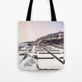 Salt Pans // La Palma Tote Bag
