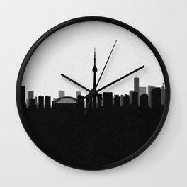 City Skylines: Toronto Wall Clock
