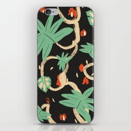 Jungle pattern iPhone Skin