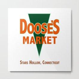 Doose's Market Metal Print