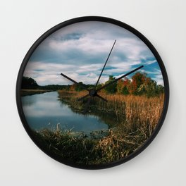 South Carolina Landscape Wall Clock
