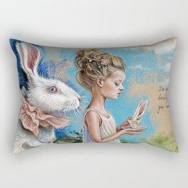 Chasing dream Rectangular Pillow