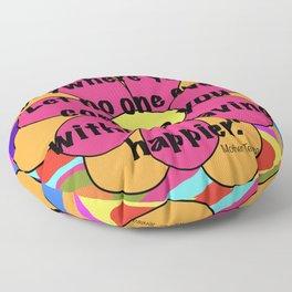quotes  Floor Pillow