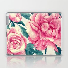 Peonies (soft tone) Laptop & iPad Skin