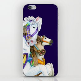 Carousel Horse - Perpetual Race iPhone Skin