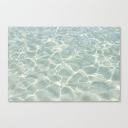 Ocean Ripples, Siesta Key Canvas Print