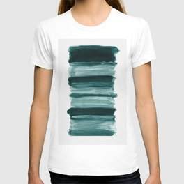 Abstract Minimalism Brushstrokes #1 #minimal #ink #decor #art #society6 T-shirt