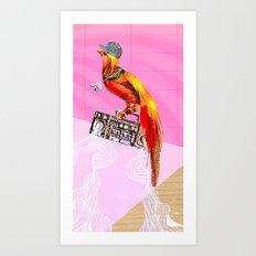 >>BOOMBOXBYRD Art Print