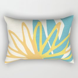 Happy Summer Abstract Rectangular Pillow