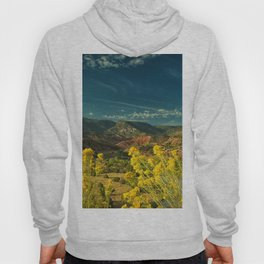 USA Abiquiu New Mexico Nature mountain Sky Grasslands Mountains Meadow Hoody