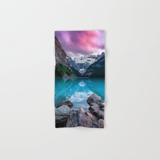 Lake Louise Hand & Bath Towel