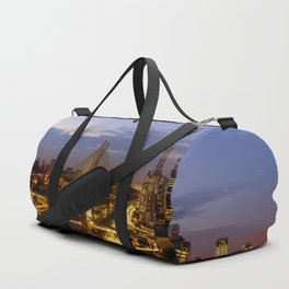 Sao Paulo Night Duffle Bag