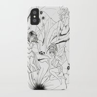 fairies iPhone & iPod Cases featuring Fairies by Miskelle