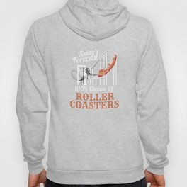 Roller Coaster Ride Fan Adrenaline Junkies Forecast Hoody