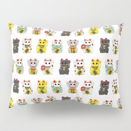 Lucky Cat / Maneki Neko Pillow Sham
