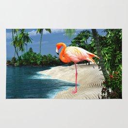 Flamingo Island Rug
