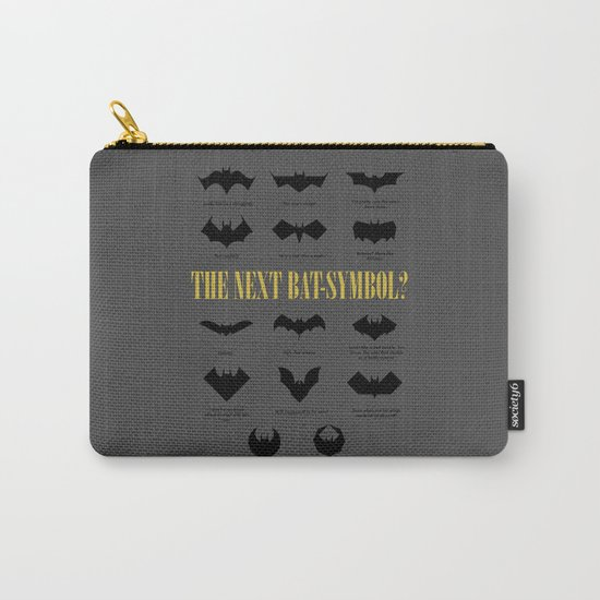 The Next Bat-Symbol? Carry-All Pouch