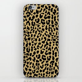 Neon Classic Leopard iPhone Skin