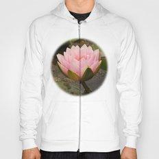 Pink lily rising Hoody