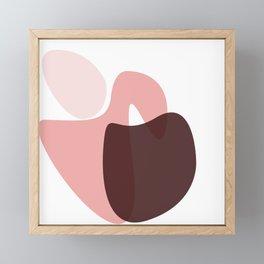 SHAPE STUDY V Framed Mini Art Print