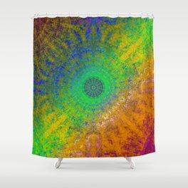 Zen RGB Alpha Shower Curtain