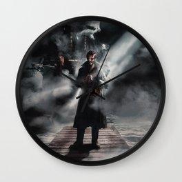 Halloween Captain Hook Wall Clock