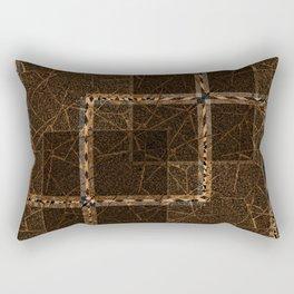 Abstract grunge background. Rectangular Pillow