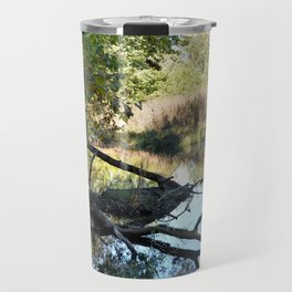 Where Canoes and Raccoons Go Series, No. 2 Travel Mug