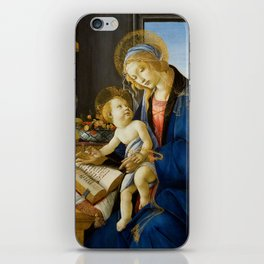 Sandro Botticelli - The Virgin and Child, 1480 iPhone Skin