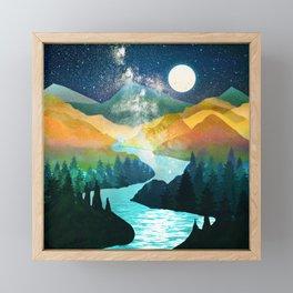Under the Starlight Framed Mini Art Print