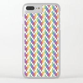 Confetti Clear iPhone Case