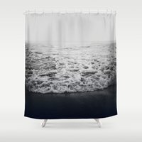 infinity Shower Curtains featuring Infinity by Leah Flores