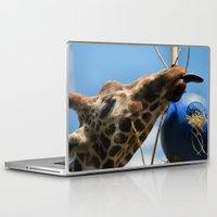 ohm Laptop & iPad Skins featuring Ohm, nom, nom! by IowaShots