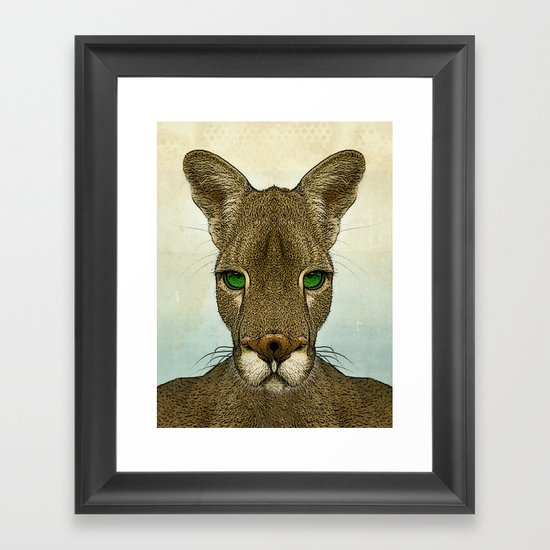 Roo Framed Art Print