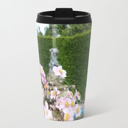 Flowers and Fountains Travel Mug