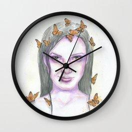 Fragility is a Strength Wall Clock