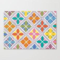 squares & diamonds Canvas Print