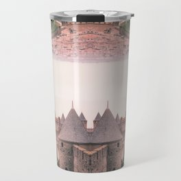 Chateau Photographic Pattern #1 Travel Mug