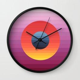 Mi Mundo Wall Clock