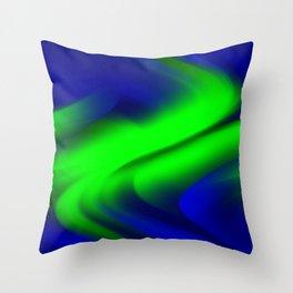 DREAM PATH (Blues & Greens) Throw Pillow