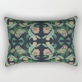 ECHEVARIA FLORAL II Rectangular Pillow
